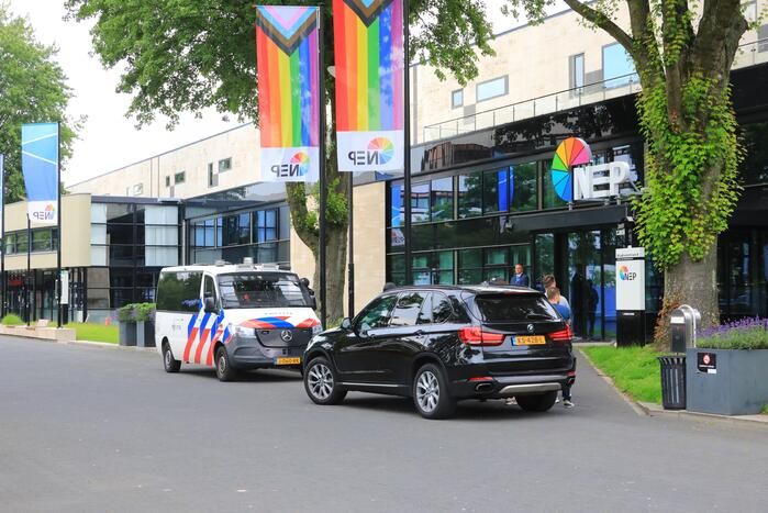 Mediapark zwaar beveiligd voor opnames RTL Boulevard