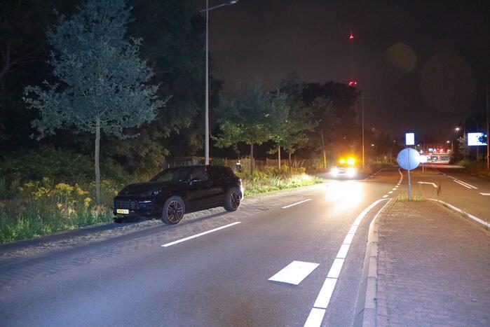 Schade aan Porsche door eenzijdig ongeval
