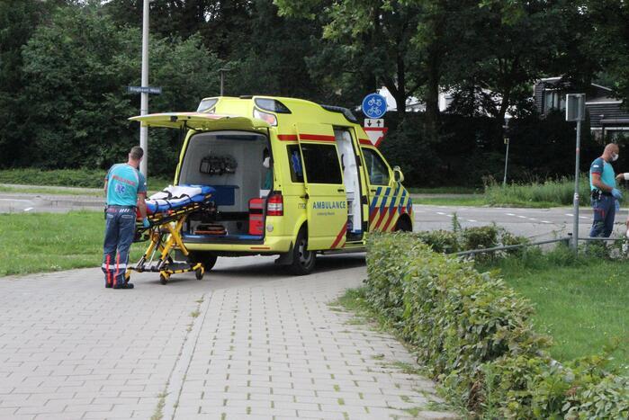 Vrouw raakt gewond op oversteekplaats