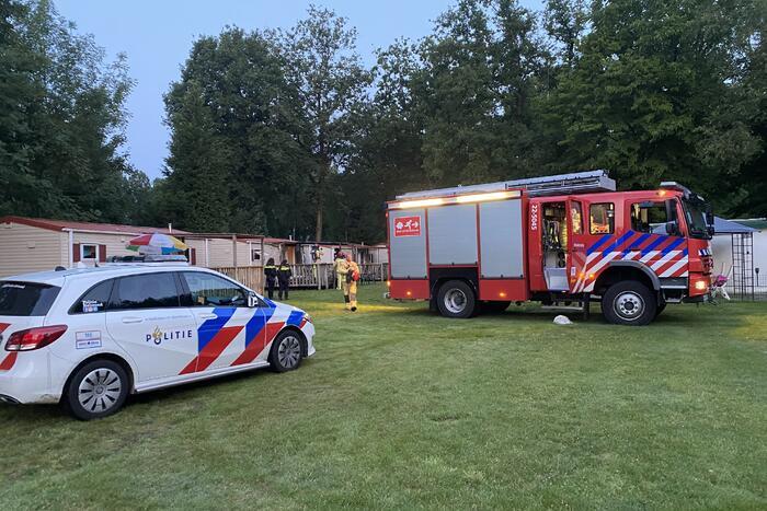 Brand op vakantiepark Prinsenmeer van Peter Gillis