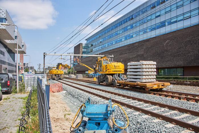 Werkzaamheden spoor NS-station Amersfoort Centraal van start gegaan
