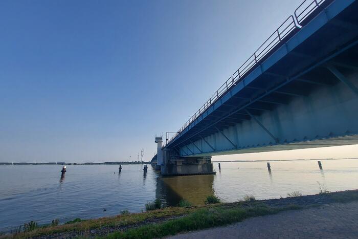 Nieuwe maximumsnelheid Haringvlietbrug