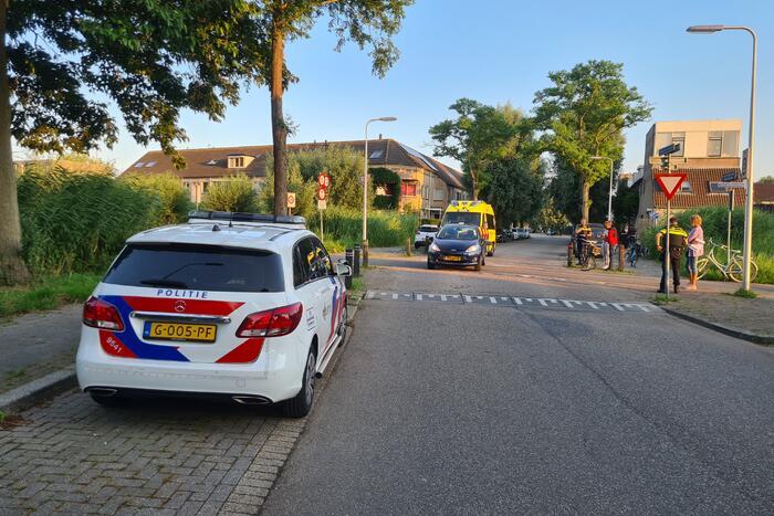 Kind op fiets gewond na ongeval met auto