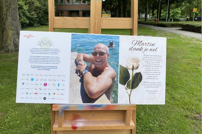 Herdenking voor neergeschoten beveiliger Martin den Dekker (53)
