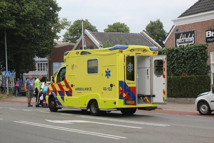 Persoon gewond door ongeval
