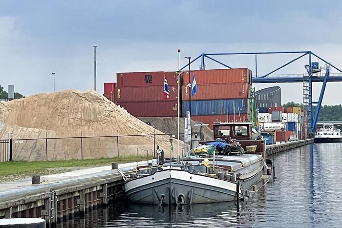 Gas vrijgekomen tijdens wassen van graan op schip