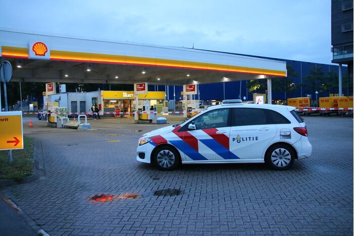 Overval op Shell-tankstation