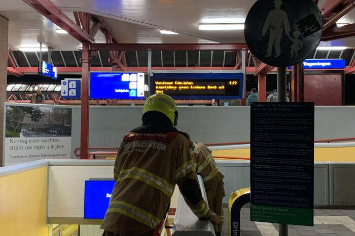 Rest van de dag geen treinverkeer door incident