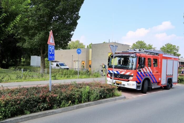 Starten diesel aggregaat zorgt voor brandmelding