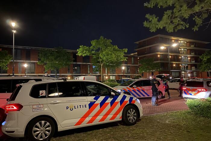Grote politie-inzet na achtervolging vanuit België