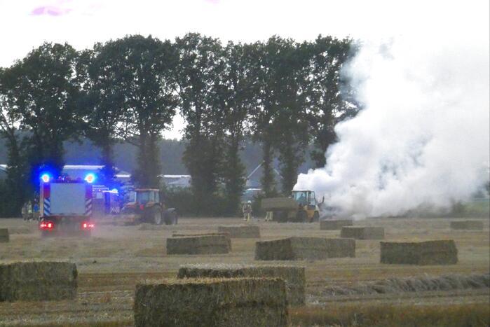 Verreiker verwoest door brand