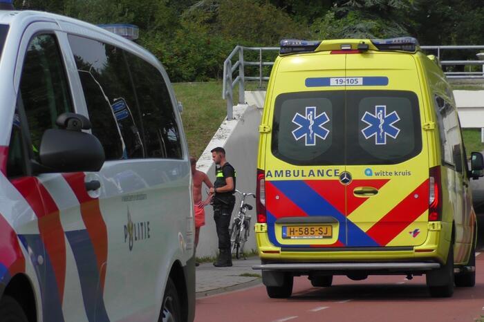 Meerdere personen gewond in fietstunnel