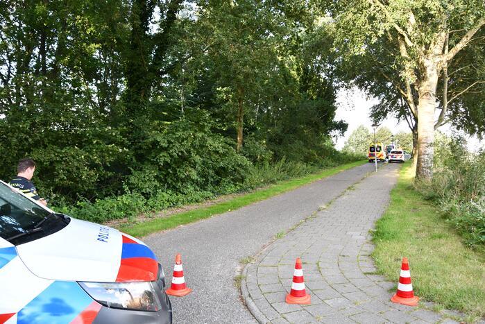 Twee gewonden bij ongeval op Drietandbrug