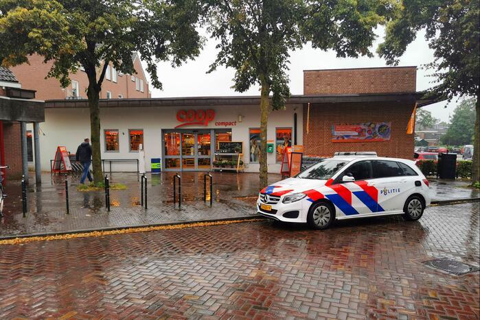 Kassière Coop-supermarkt overvallen