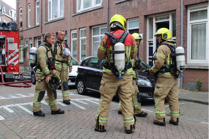 Bewoners gecontroleerd bij woningbrand