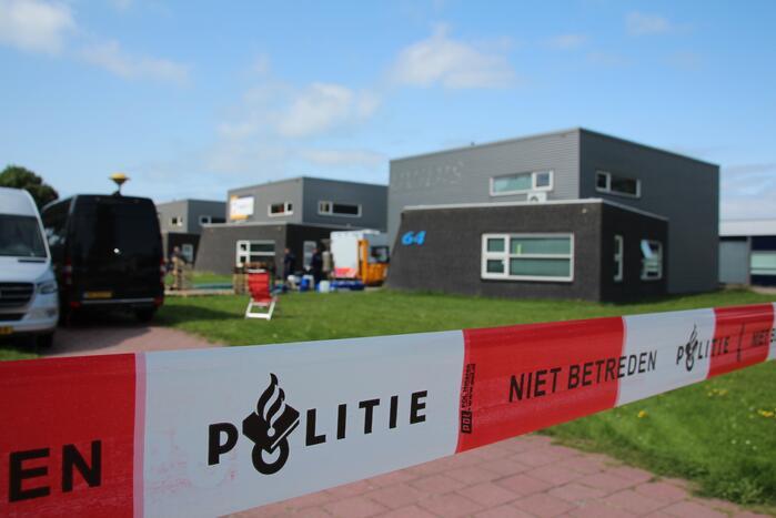 Drugslab in bedrijfspand Industrieterrein Noordersluis