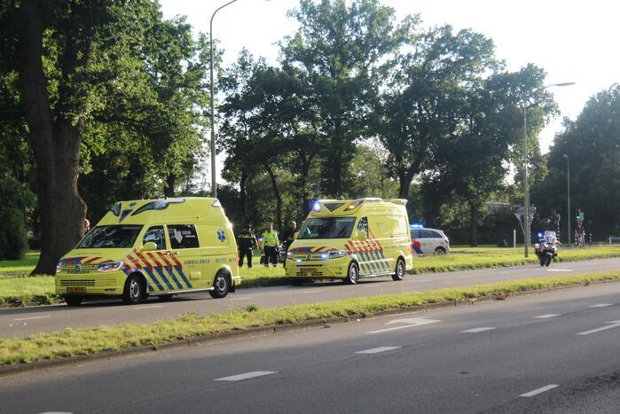 Fietser gewond door ongeval met fietser