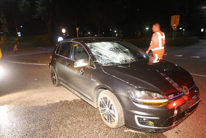 Persoon gewond door eenzijdig ongeval