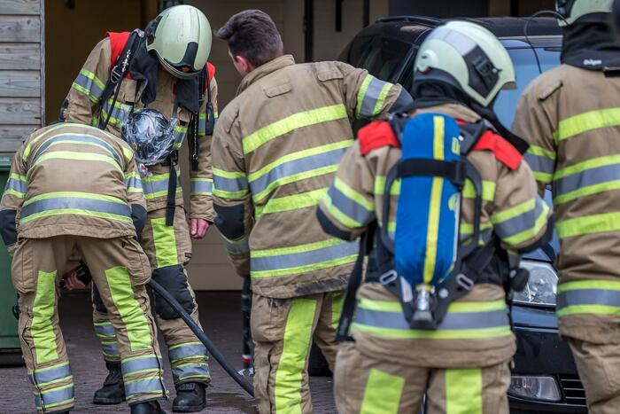 Schade beperkt na brand in woning
