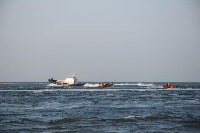 Grote zoekactie naar persoon in Noordzee