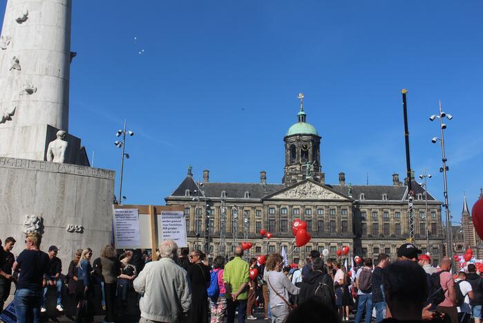 Grote demonstratie tegen coronamaatregelen