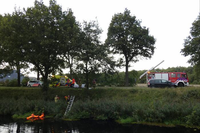 Grote zoekactie in Oranjekanaal na vondst motorhelm