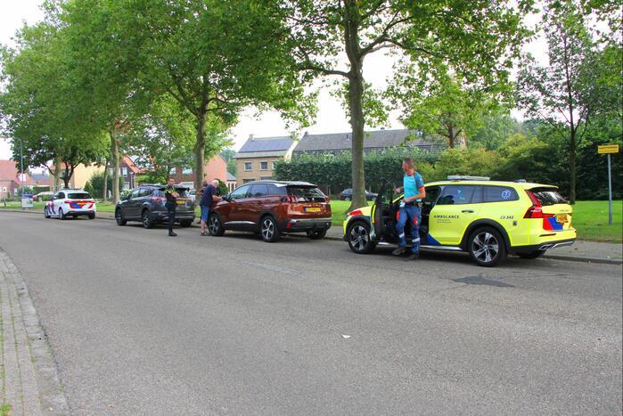 Twee auto's betrokken geraakt bij kop-staartbotsing