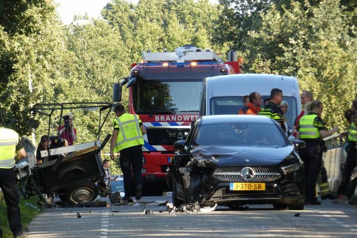 Zwaargewonde na ongeval met rijtuig