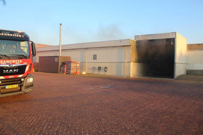 Veel rookontwikkeling bij brand in bedrijfspand Vleems Food