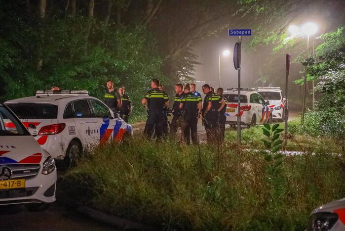 Politiehelikopter zoekt mee tijdens zoekactie