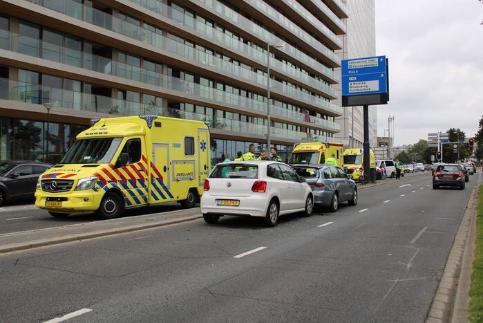 Twee gewonden na verkeersongeval
