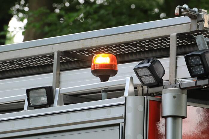 Keukenbrand geblust door brandweer