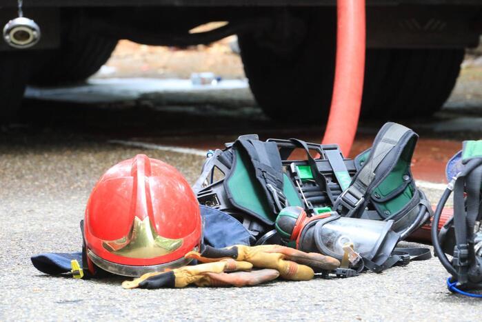 Brandweer ingezet wegens rookontwikkeling