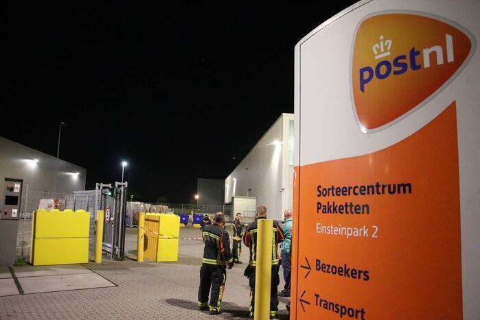 Hulpdiensten onderzoeken gevaarlijke stof PostNL