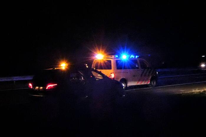 Persoon gewond bij ongeval op Rijksweg