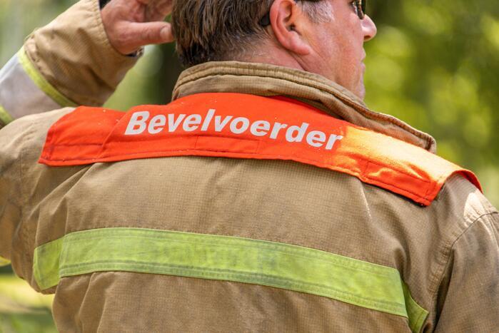 Brandweer doet metingen wegens ammoniaklekkage