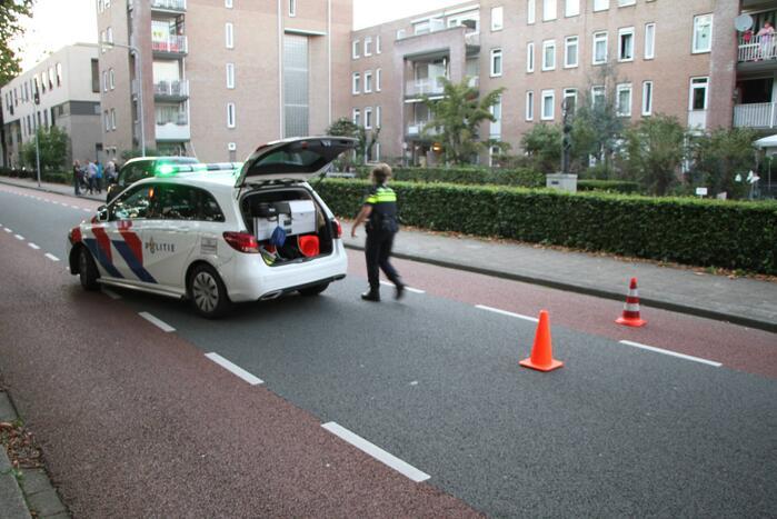 Voetganger aangereden door personenauto