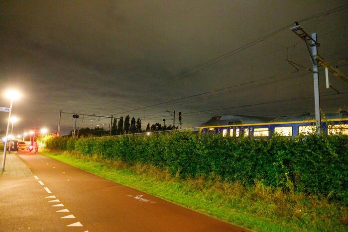 Geen treinverkeer mogelijk na aanrijding