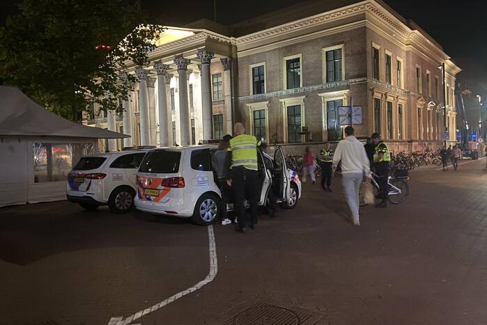 Politie houdt persoon voor rijden onder invloed