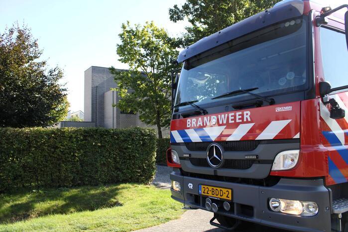 Onkruidbrander veroorzaakt brand in spouwmuur