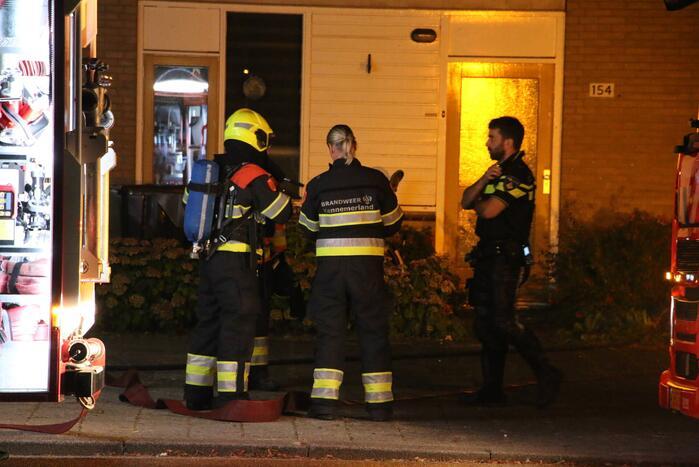 Fikse schade na brand op zolder