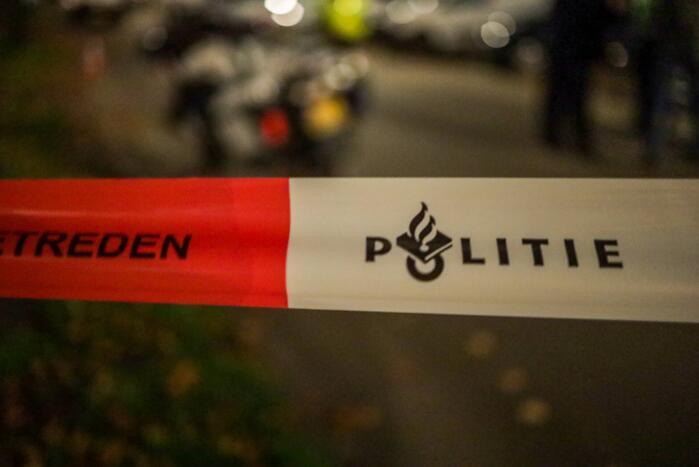 Politie doet inval bij woonwagenkamp