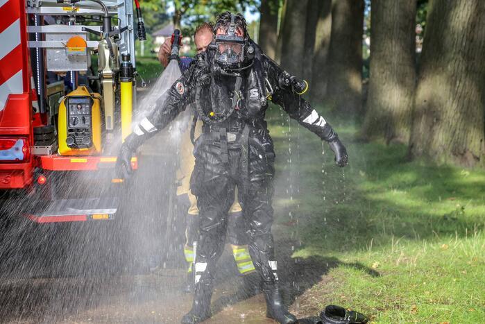 Drenkeling uit water gehaald door brandweer