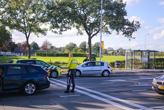 Twee auto's betrokken geraakt bij kop-staart ongeval