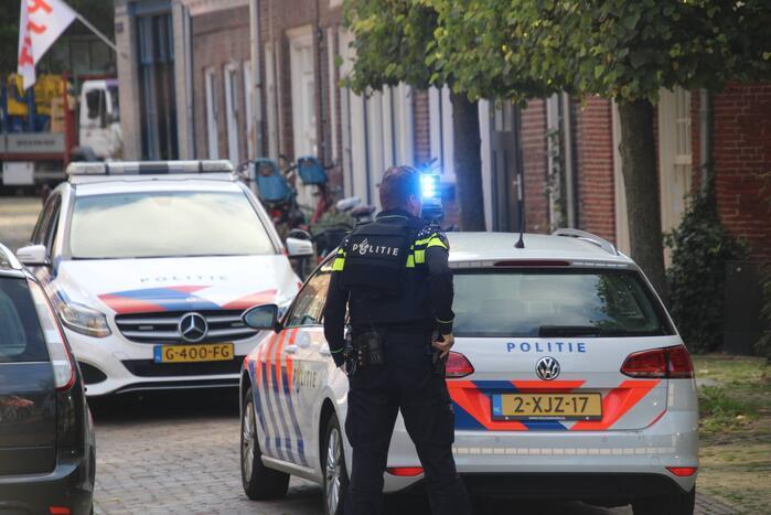 Veel politie op de been voor verward persoon