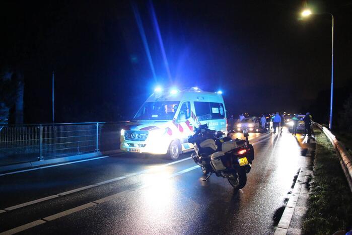Scooterrijder aangereden door automobilist