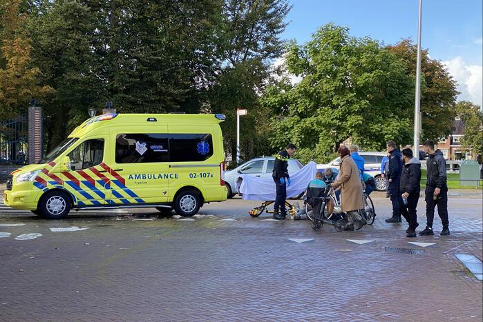 Fietser gewond bij botsing met deelscooter