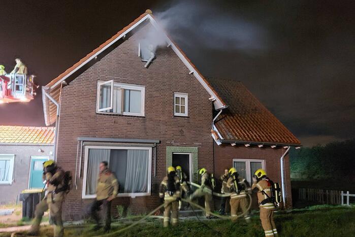 Brandweer houdt grote oefeningsactie